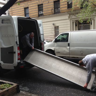 Piano Moving Van & Ramp